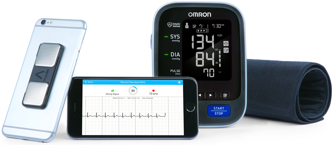 iphone blood pressure monitor kardia omron alivecor 7797