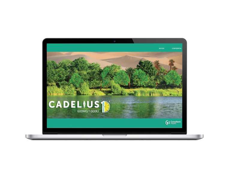 cadelius website screenshot