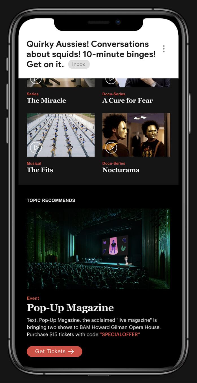 Topic Design iPhone Image