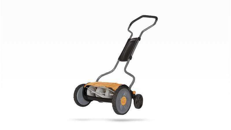 Fiskars StaySharp Plus Reel Mower