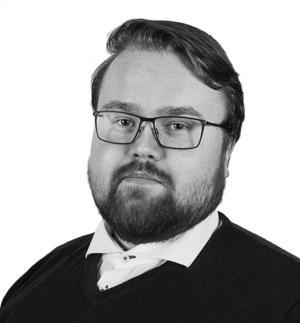 Image of Dag-Roger Eriksen in black and white