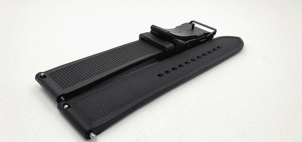 Black rubber strap for Representor - open