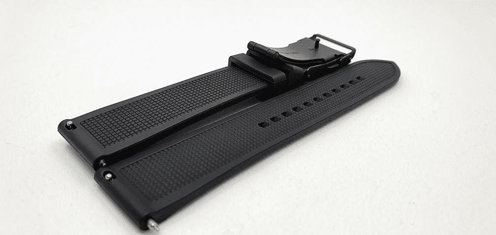 Zwart rubberen band voor Representor - open