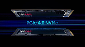SAMSUNG 980 PRO PCIe 4.0 SSDs official with up to 1 TB capacities- 7000 MBs read speeds AND nickel-plated conductor