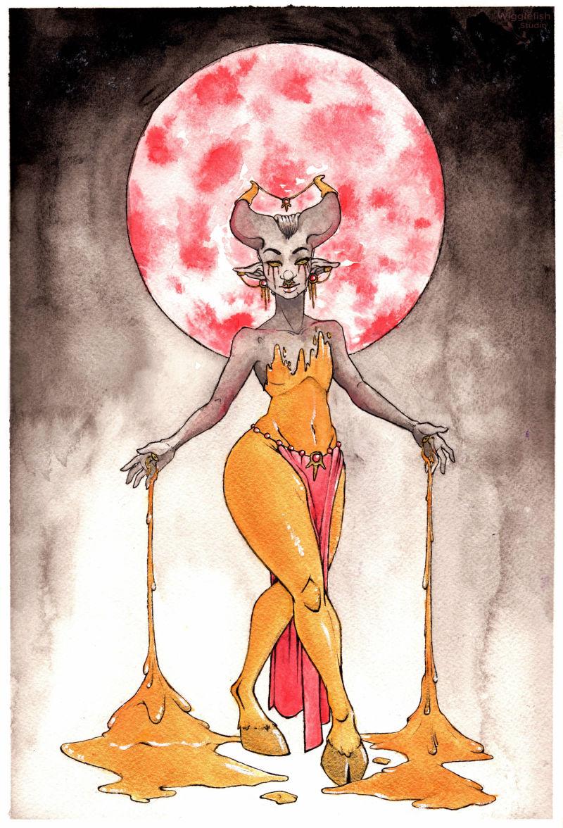 Oriah the Gilded Queen