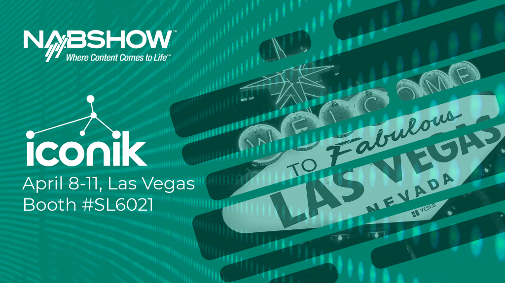 image from iconik at NAB Show 2019