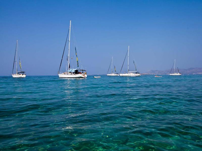 It's Hard to Resist Sailing in Greece