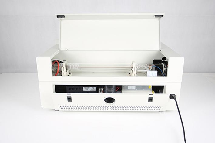 rear panel on the Aeon Mira CO2 Desktop Laser Cutting Machine