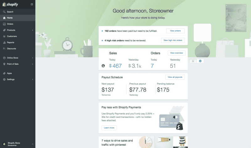 Preview Shopify 2