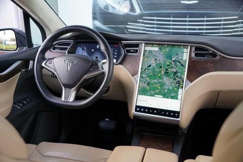 Tesla Model X 90D Base 6p. 6-Persoons / Panoramadak / Camera / Luchtvering / 112dkm NAP / NL-Auto afbeelding 24