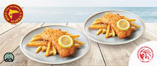 >The Manhattan FISH MARKET