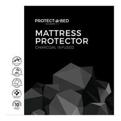 Charcoal Infused Mattress Protector