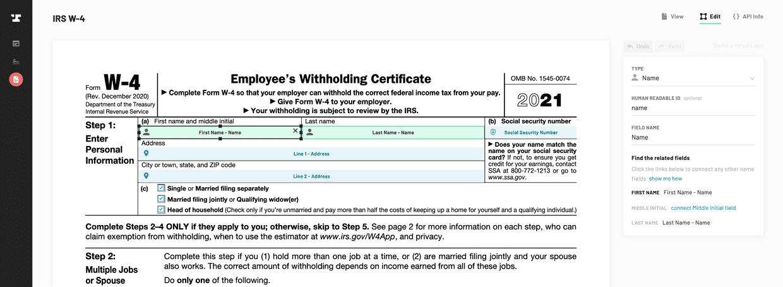 IRS W-4
