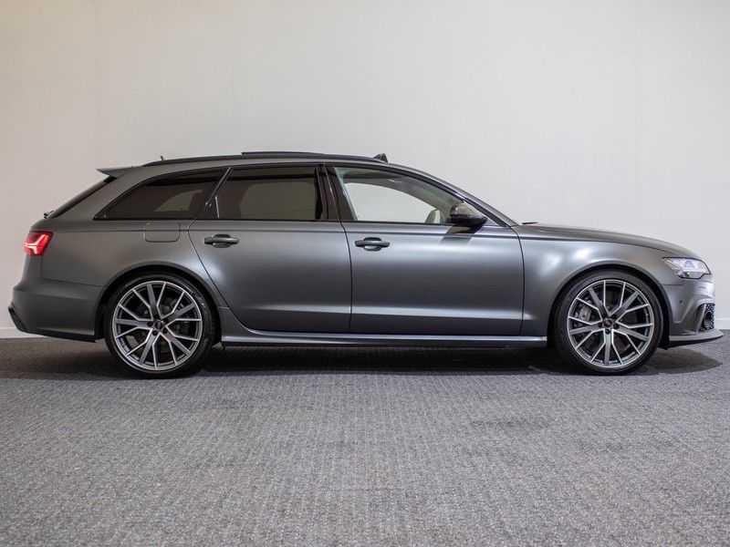 Audi A6 Avant 4.0 TFSI RS6 quattro perfomance | Dynamiekpakket plus | Carbon Optiek | B&O advanced | RS-sportuitlaat | DAB+ | Head-up display | Alcantara Hemel | Pano dak | Nachtzicht | afbeelding 13