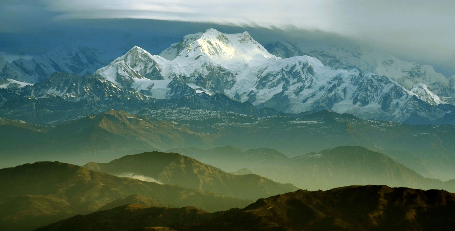 Kanchenjunga Mountain in the Mourning