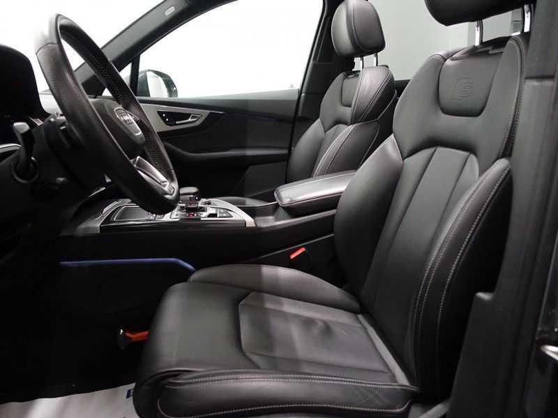 Audi Q7 3.0 TDI e-tron 374pk Quattro S-Line - Pano, Virtual Cockpit, Camera, Leer, Full! afbeelding 22