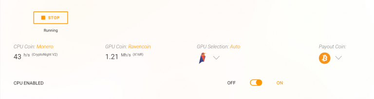 Advanced Settings for AMD - Cudo Miner