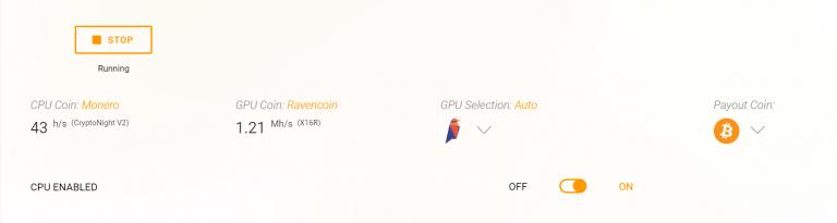 Advanced Settings for NVIDIA - Cudo Miner