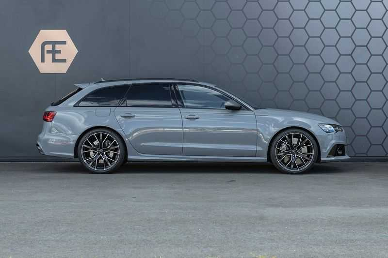 Audi RS6 Performance Pro Line Plus 4.0 TFSI quattro 605PK BTW + Keramisch + Carbon + Nardo Grey + Panoramadak + 4 nieuwe banden afbeelding 12
