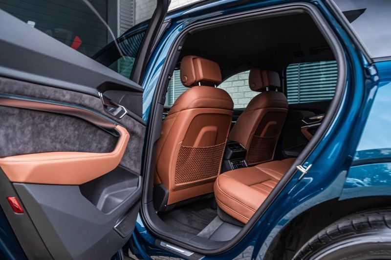 Audi e-tron 55 quattro advanced Pro Line Plus, 408 PK, 4% Bijtelling, Luchtvering, Surround View, Stad/Tour Pakket, B&O, EX. BTW!! afbeelding 18