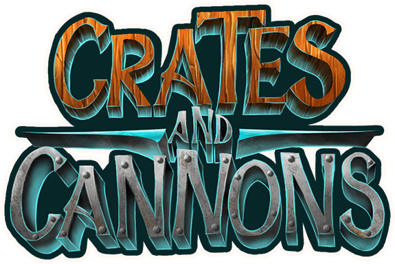 Crates and cannons logo