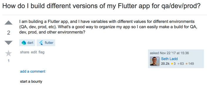 Separating build environments in Flutter apps | iirokrankka com