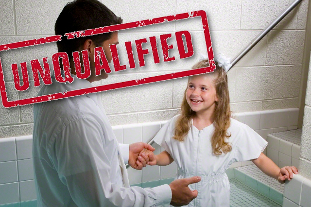 You are unqualified for your calling (and that's OK)