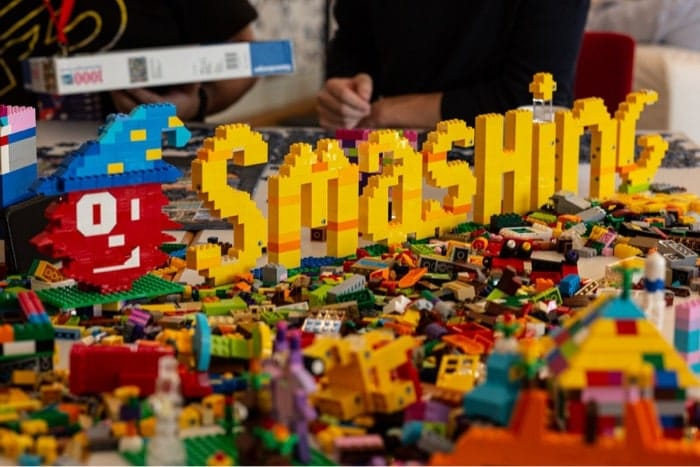 Smashing in LEGO