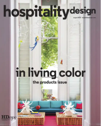 Hospitality Design Cover