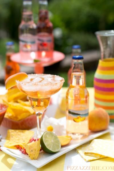 Peach Fuzzy Navel Margarita Image