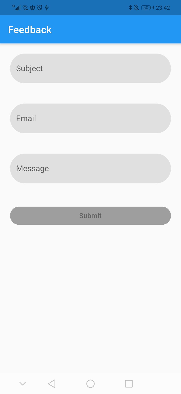 send email in flutter