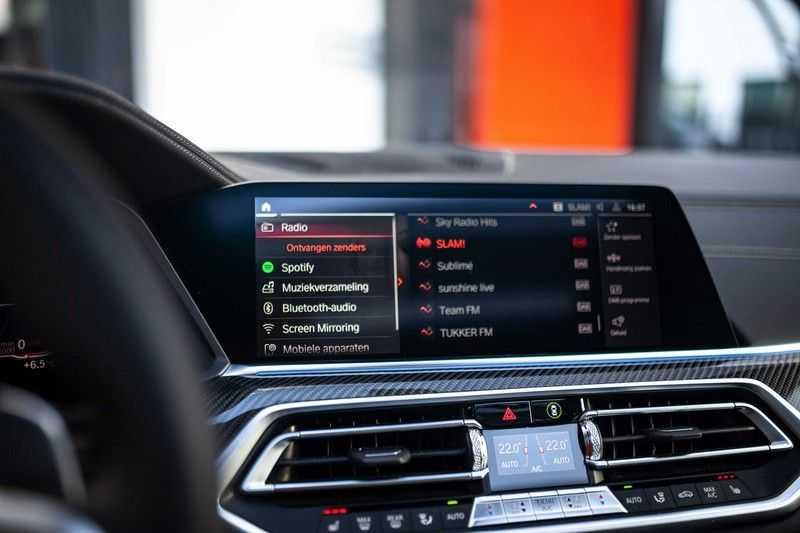 "BMW X6 xDrive40i High Executive *Pano / Laser / HUD / H&K / Leder Indiv. / 22"" / Topview* afbeelding 15"