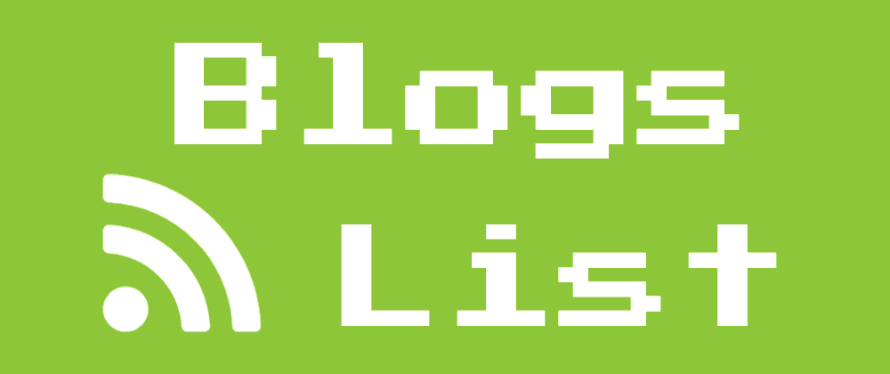 Blogs List