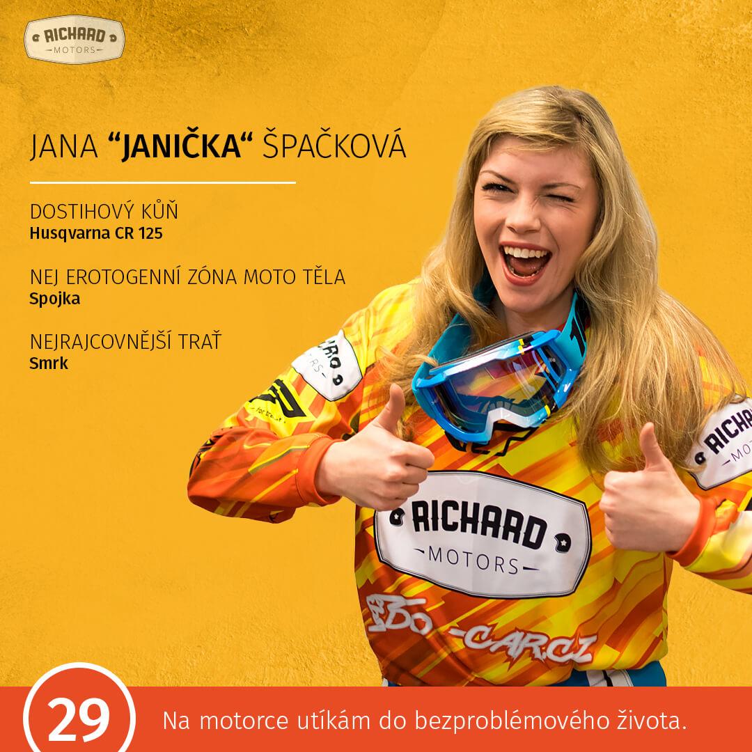 """Jana """"Janička"""" Špačková"""
