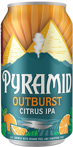 Outburst citrus 12 oz. can