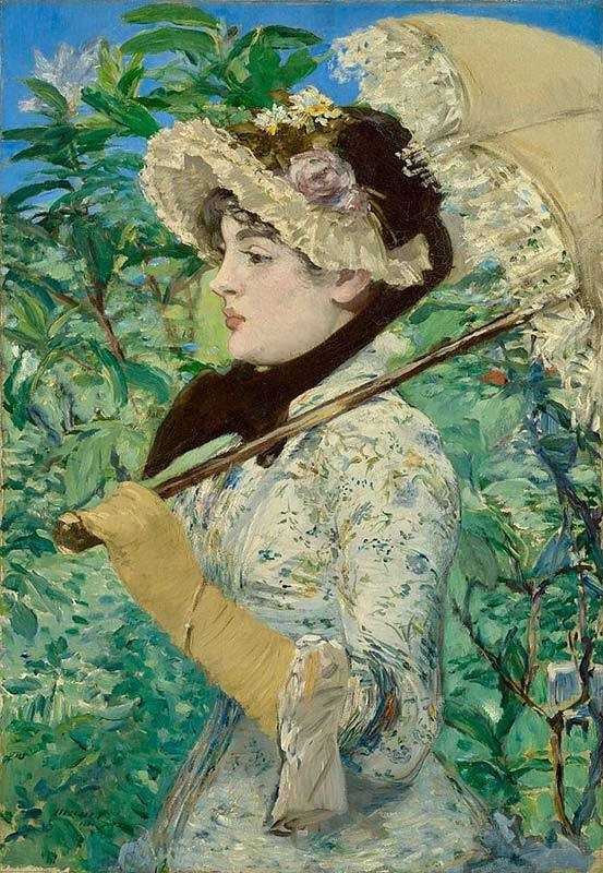 Edouard Manet's Spring (Jeanne Demarsy) was sold in 2011 for $65 million