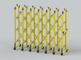 Centipede Retractable Barrier