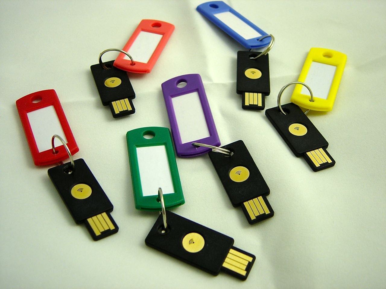 Yubikey Security Tokens at Rietta