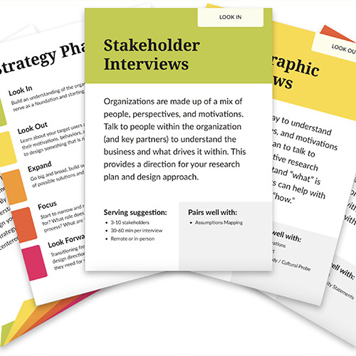 New and Improved Interactive Method Cards
