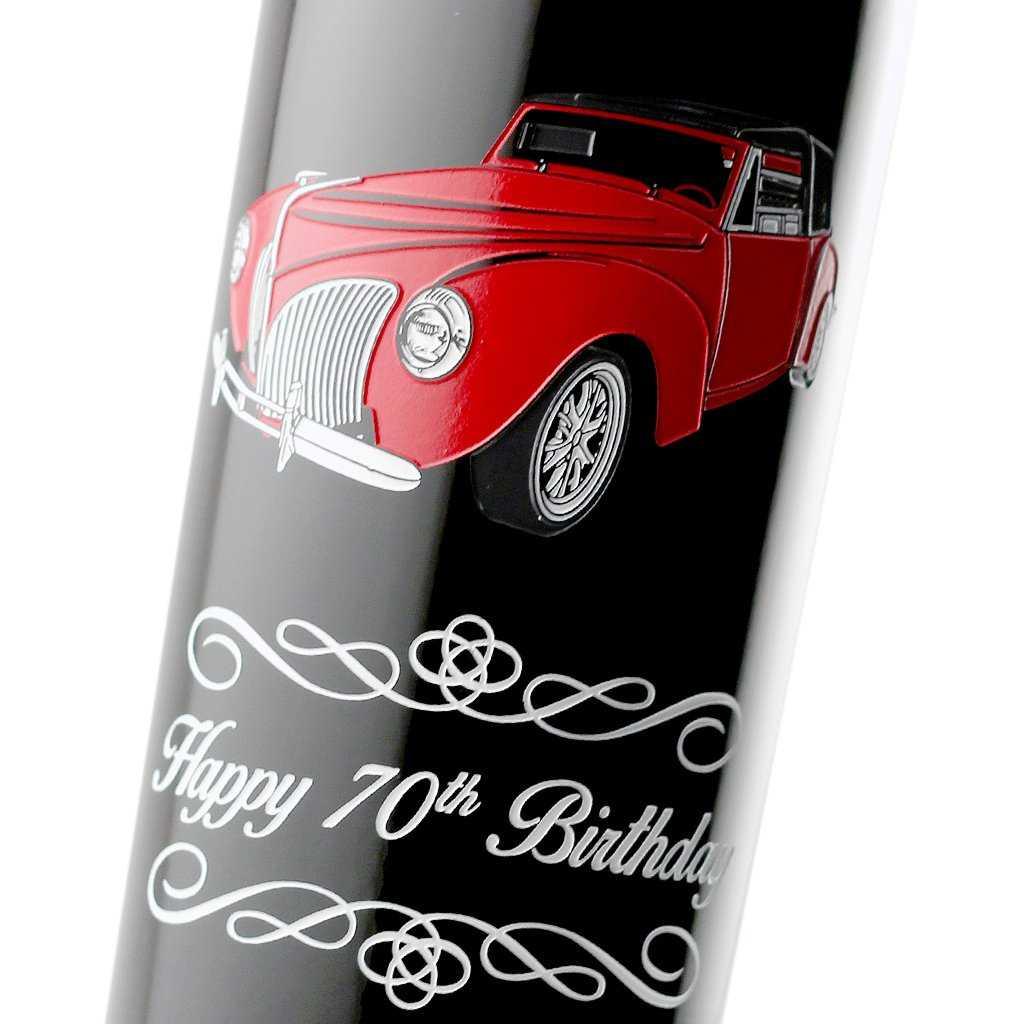 Happy Birthday Wine