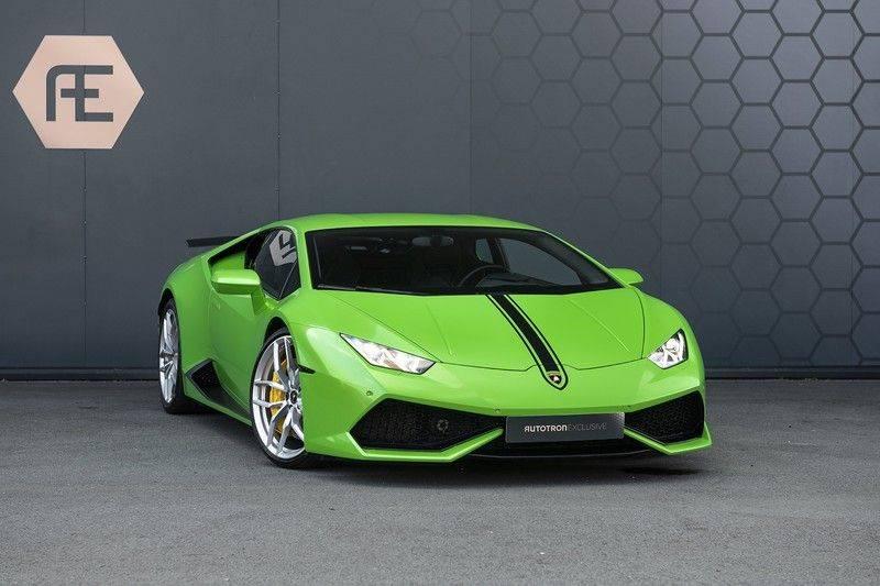 Lamborghini Huracan 5.2 V10 LP610-4 Blue Eye + Carbon Spoiler + LIFTING + Achteruitrijcamera afbeelding 4