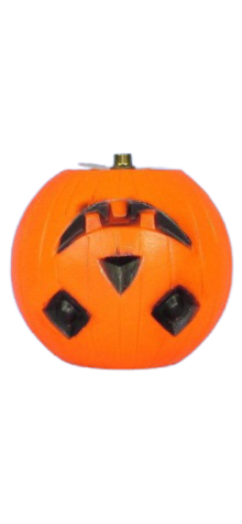 Pumpkin Lampshade photo