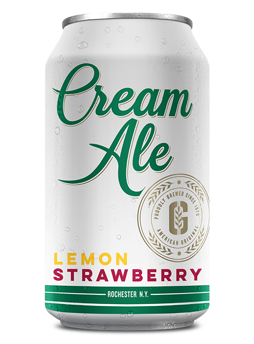 Lemon Strawberry Cream Ale can