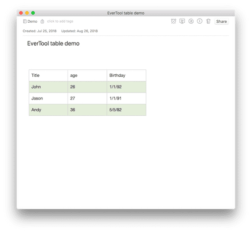 paste to evernote