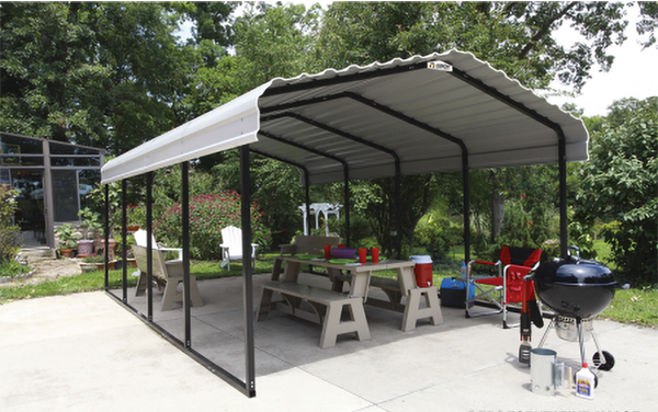 Arrow Steel Carport 12x24