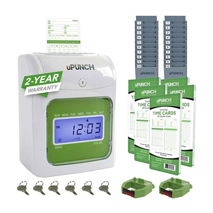 HN3500 Non-Calculating Time Clock Bundle