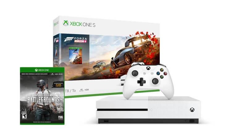 Xbox One S 1 TB<br/>Forza Horizon 4 + PUBG