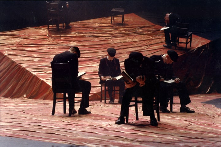 """Robert Thomson's lighting design for the production of """"Spring Awakening"""" at the Canadian Stage"""