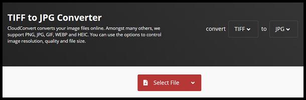 Click Select File