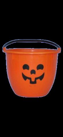 Pumpkin Trick or Treat Bucket photo
